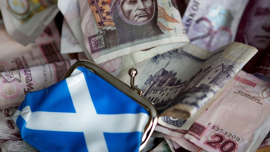 The FCA says it has basic contingency plans if Scotland votes Yes to independence
