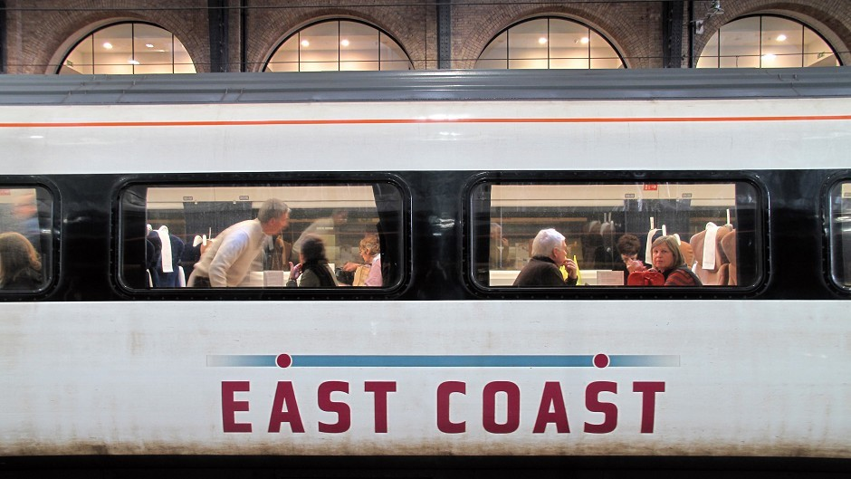 An East Coast operated train
