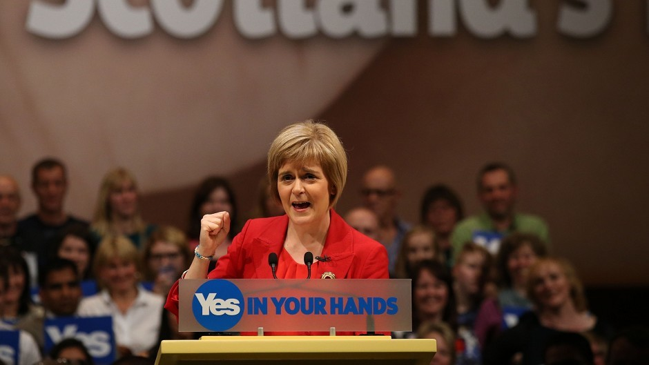 Nicola Sturgeon is the hot favourite to be Scotland's next first minister
