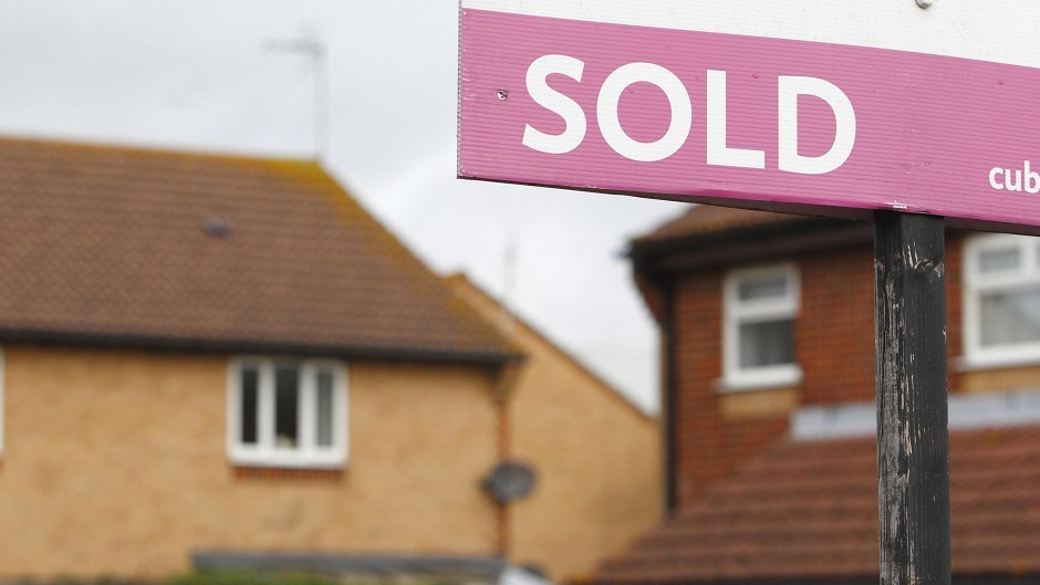 Housing prices in Moray are on the rise, with sales in homes also on the increas
