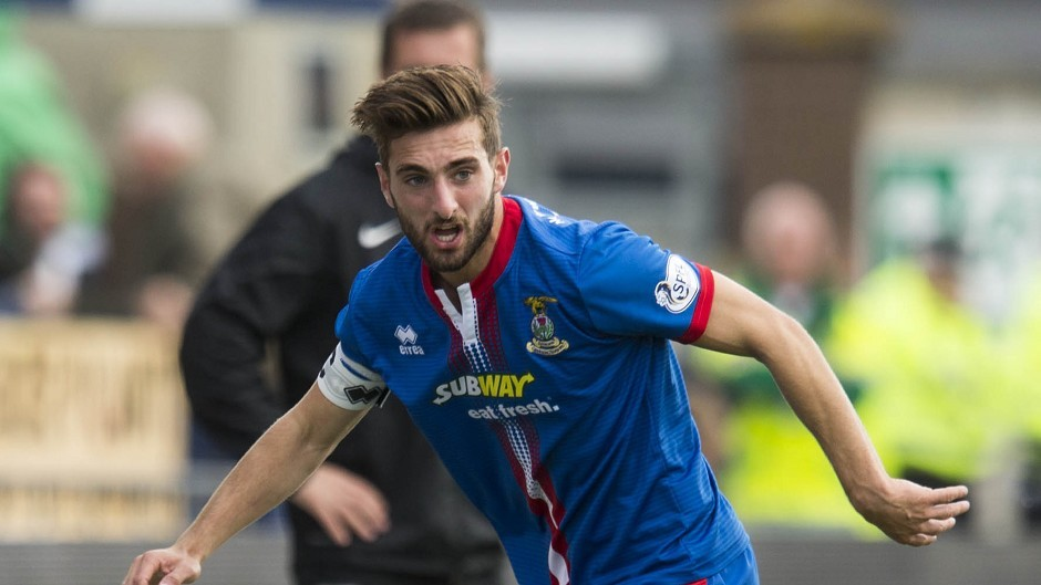 Inverness' Graeme Shinnie