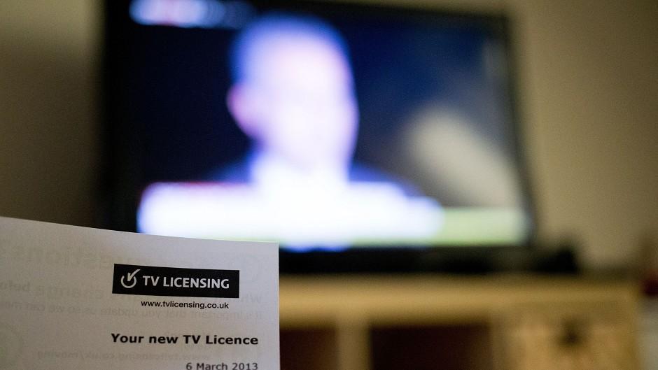 TV licence fee