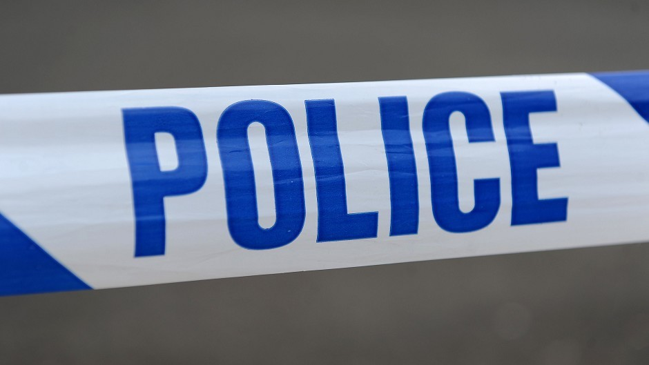 Police are at the scene of a serious road accident on the A9