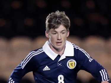 Scotland Under-21 cap Ryan Gauld has been included in Sporting Lisbon's Champions League Squad