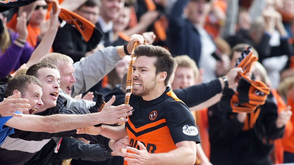 Former Dundee United player Ryan Dow joined Ross County in September.