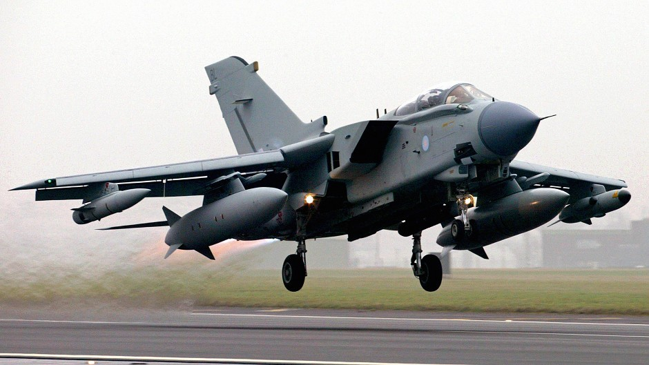 RAF Tornado GR4 fighter-bomber