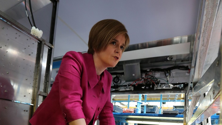Nicola Sturgeon has admitted she isn't the best cook