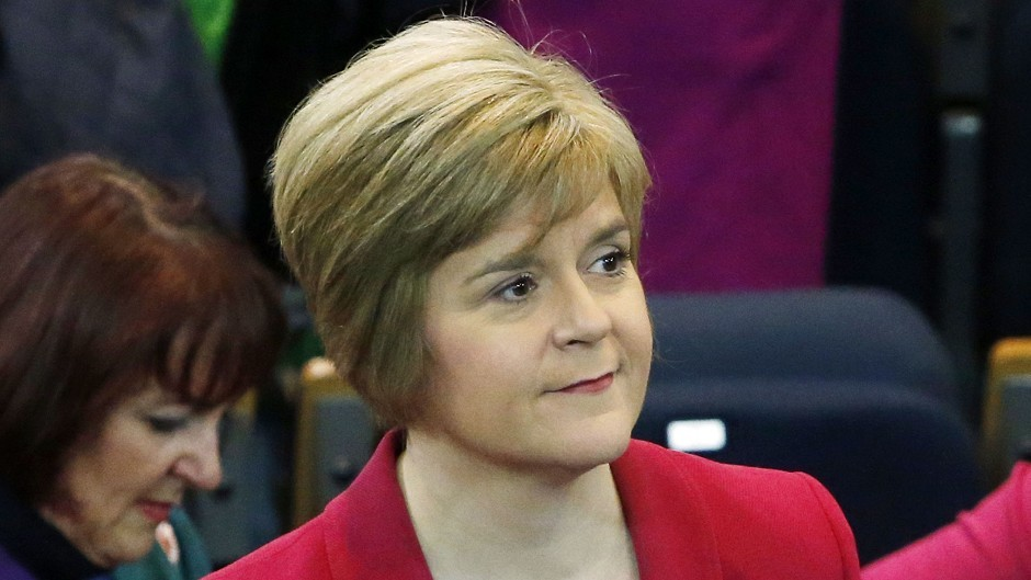 Former Health Secretary Nicola Sturgeon in 2008 accepted review recommendations to close NHS Grampian funding gap.