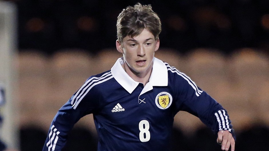 Ryan Gauld gained plaudits for Scotland Under-21s