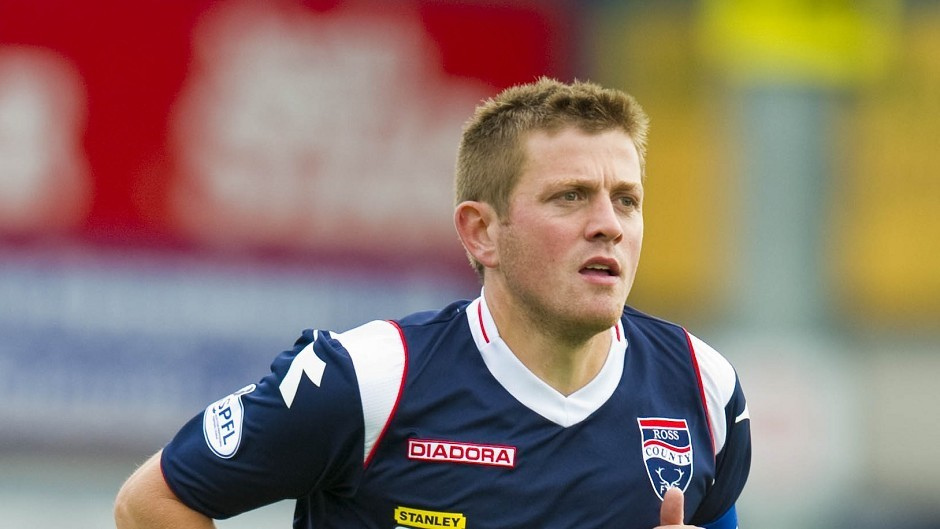 Ross County captain Richard Brittain requires surgery on a foot injury