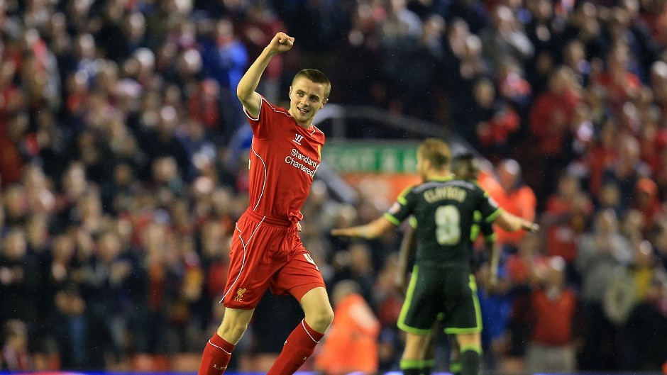 Rossiter has made five appearances for the Liverpool first team