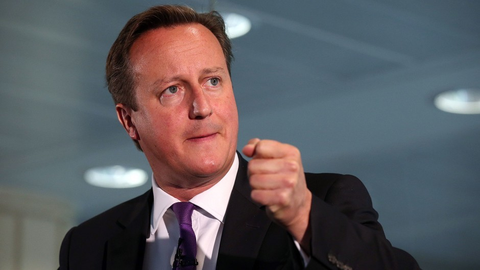 David Cameron is expected to make a major statement on the future of the UK