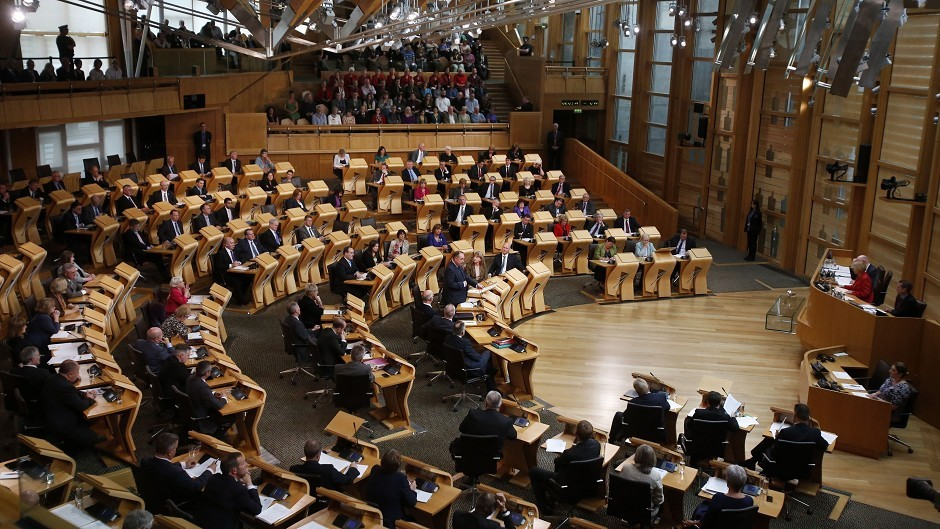 The Scottish Parliament could get elected committee conveners.
