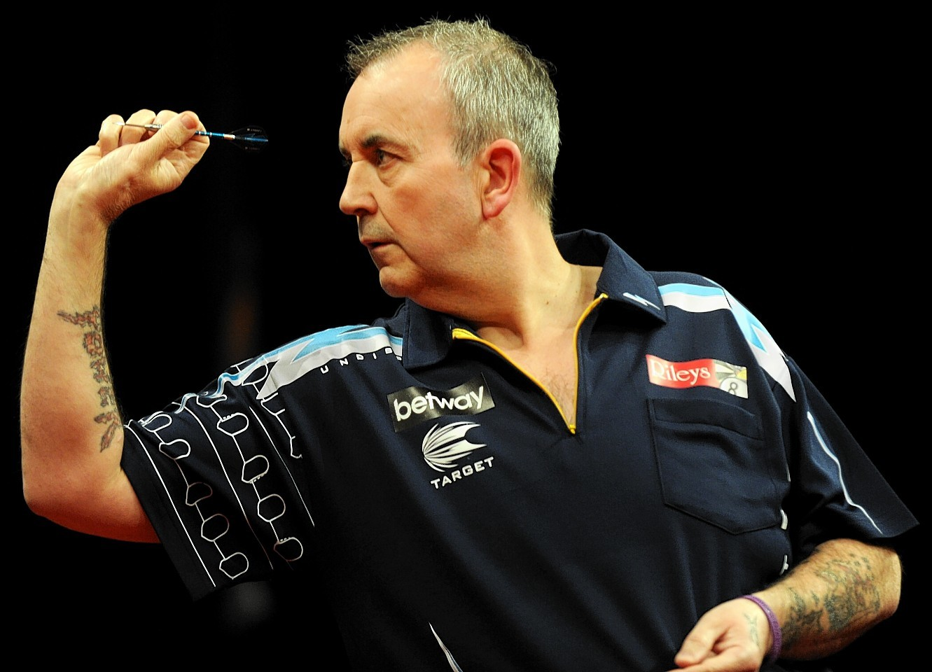 Phil Taylor starred in Aberdeen when the Premier League Darts visited in April this year