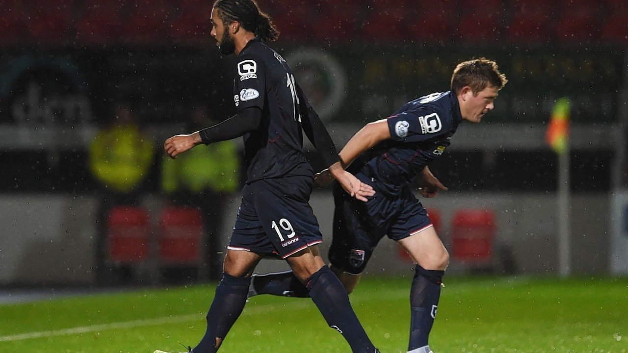 Jim Fenlon, left, has been released by Ross County manager Jim McIntyre