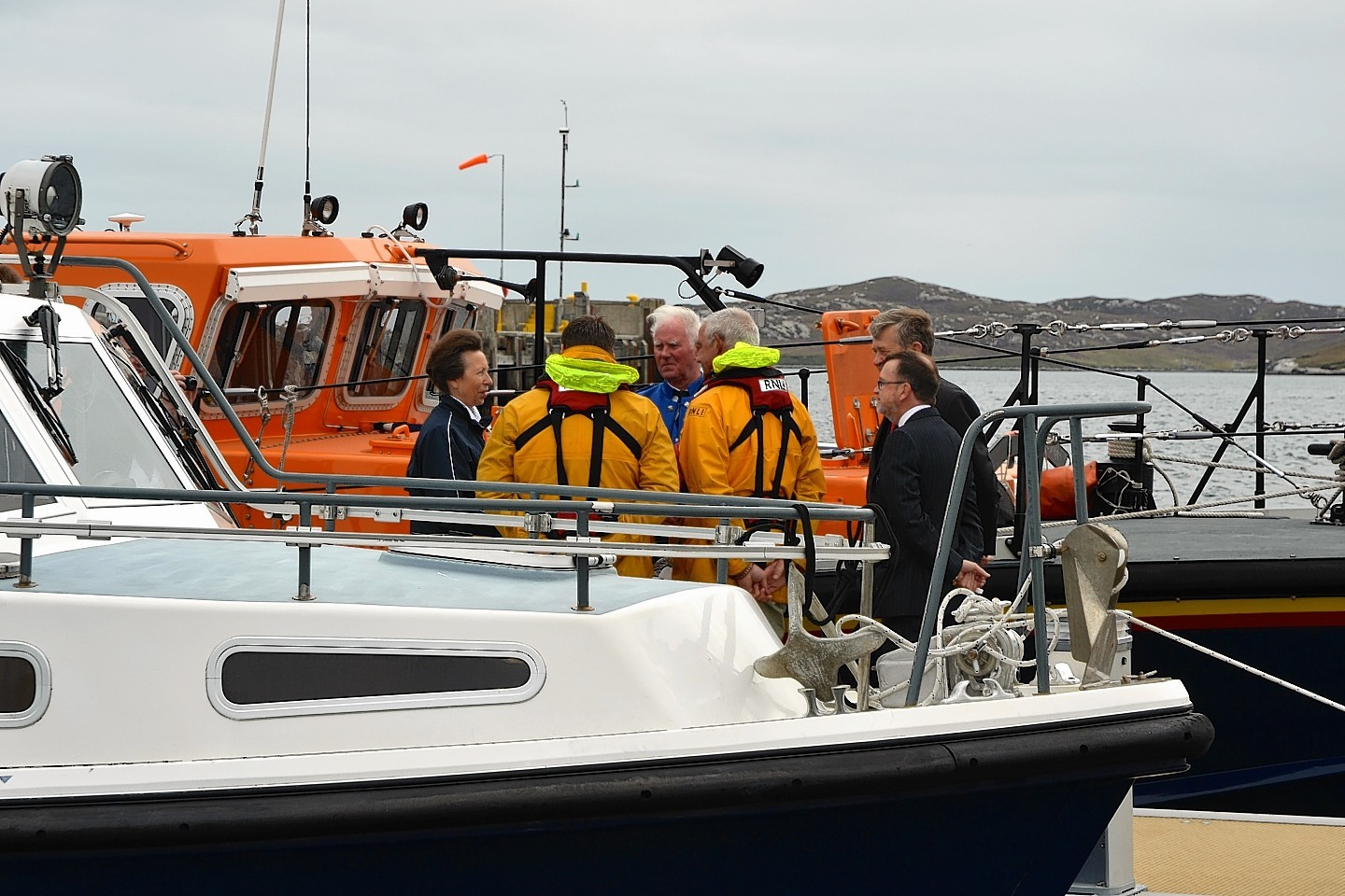 Police investigate a boat sinking in Stornoway Harbour
