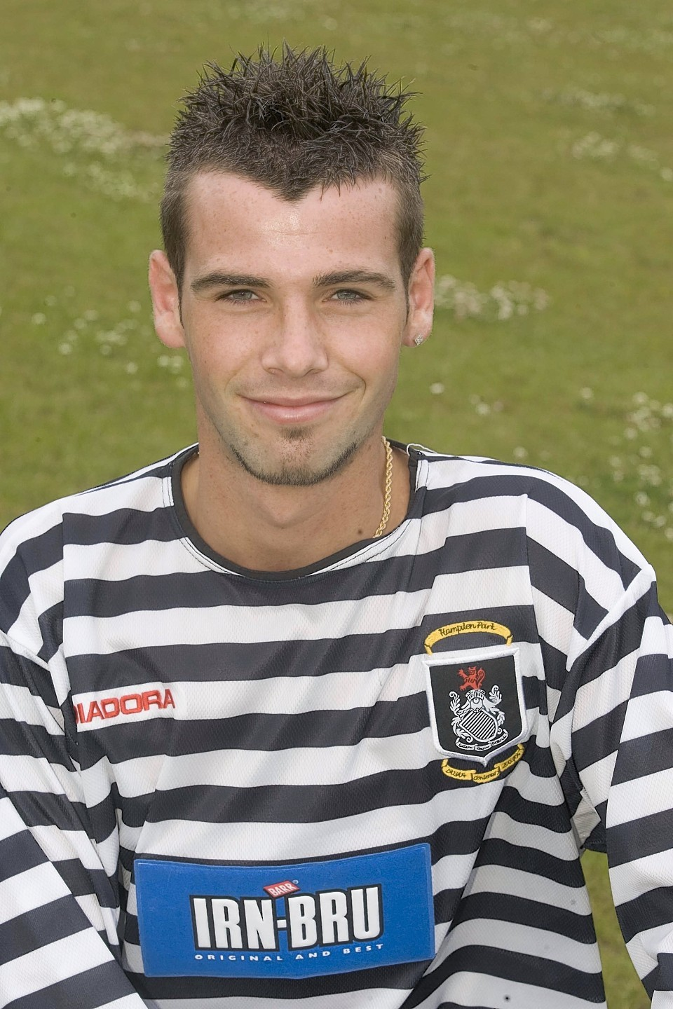 Kettlewell broke into the Queen's Park first team when he was just 18