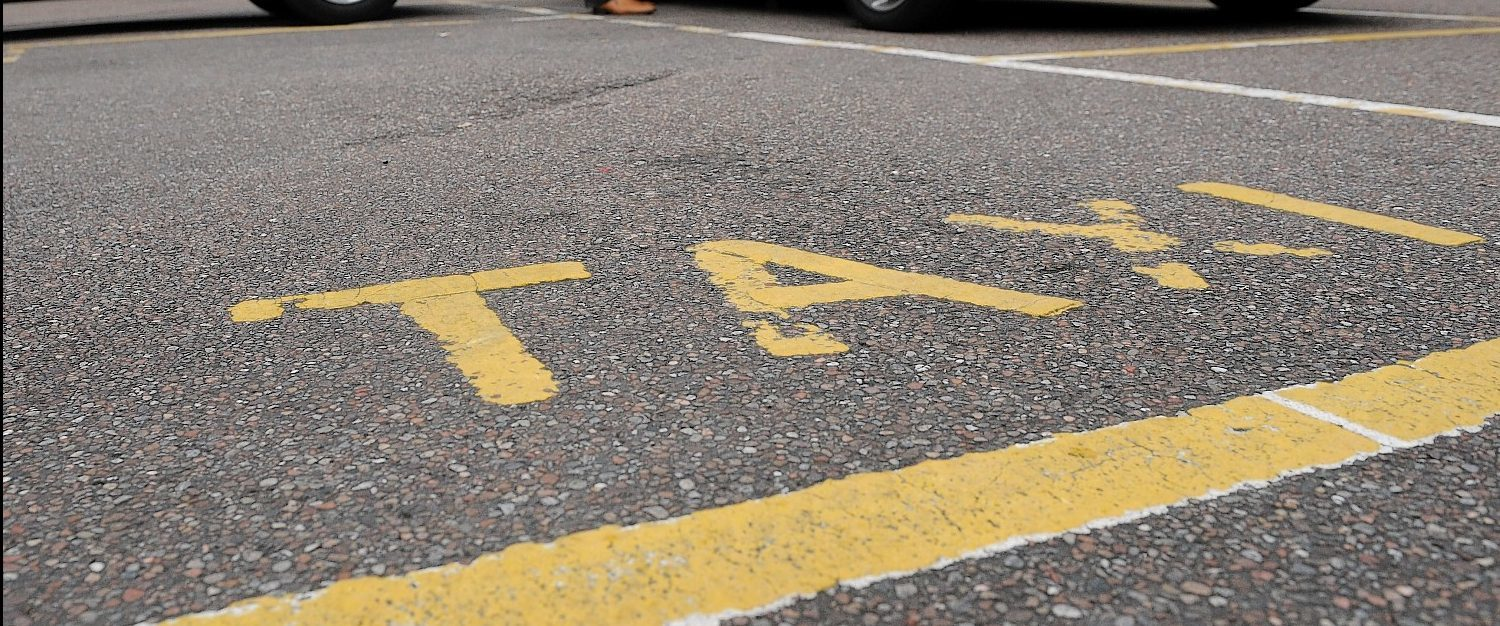 Taxi fares are to increase in Aberdeenshire - but only two days a year.