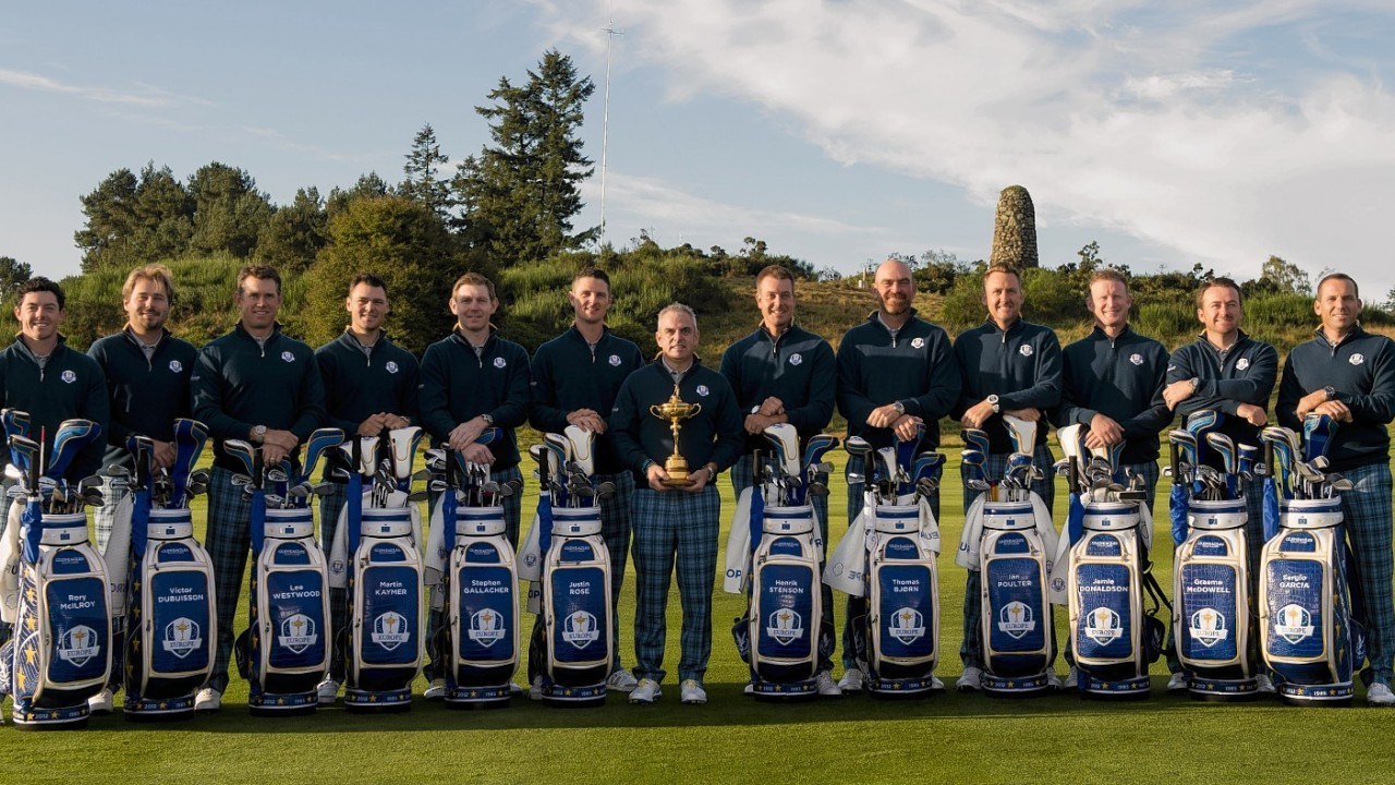 Team Europe are ready for action