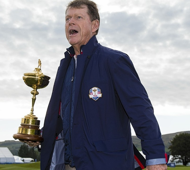 The Americans will be captained by Tom Watson
