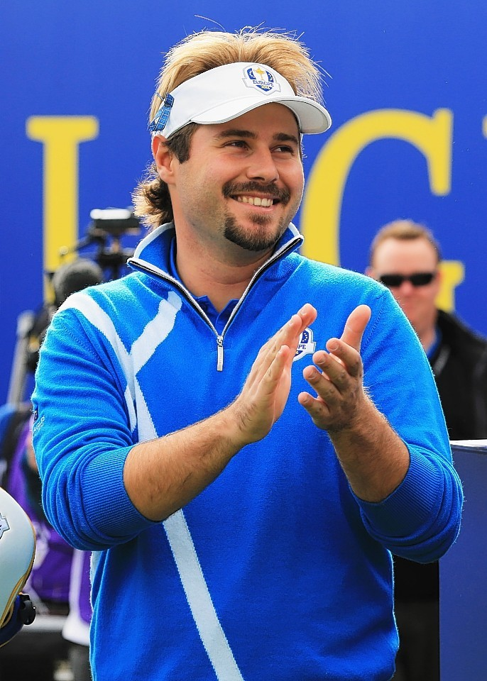 Ryder Cup rookie Victor Dubuisson helped Graeme McDowell to victory
