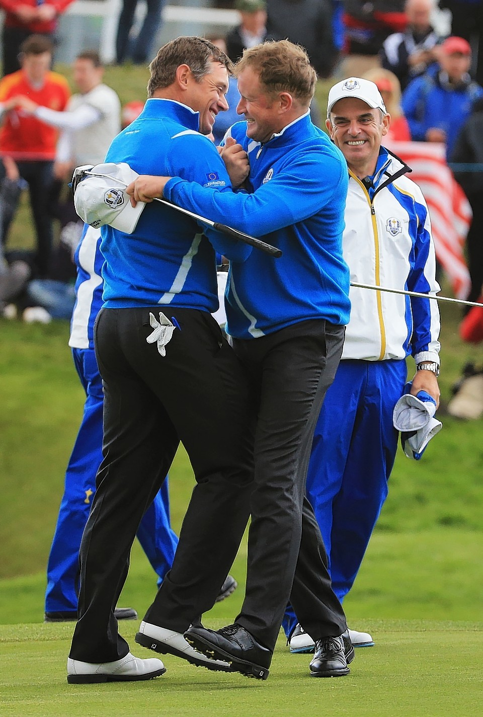 Westwood and Donaldson were rested this morning but produced a brilliant performance this afternoon