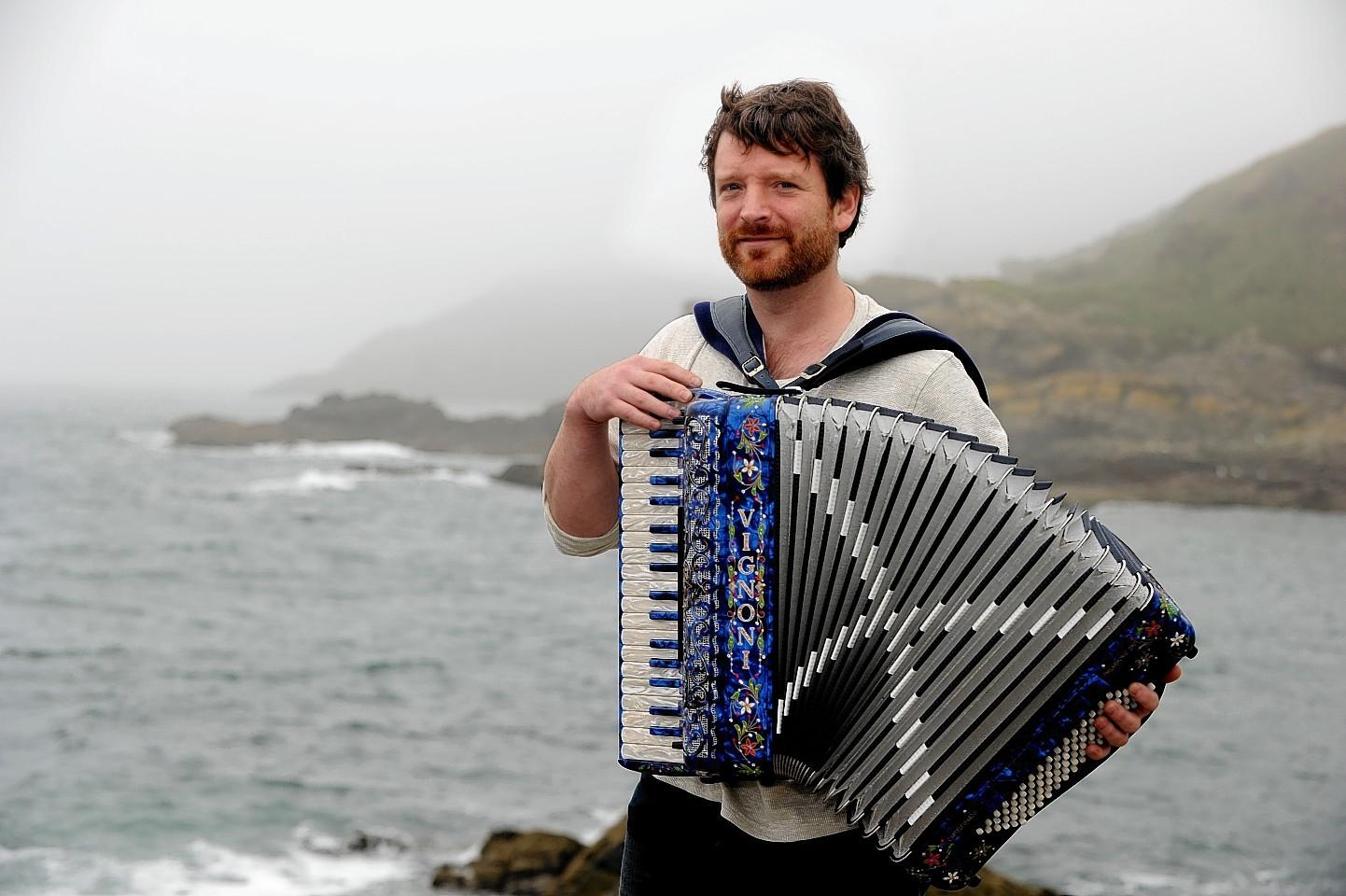 One-man-band Charlie Abel