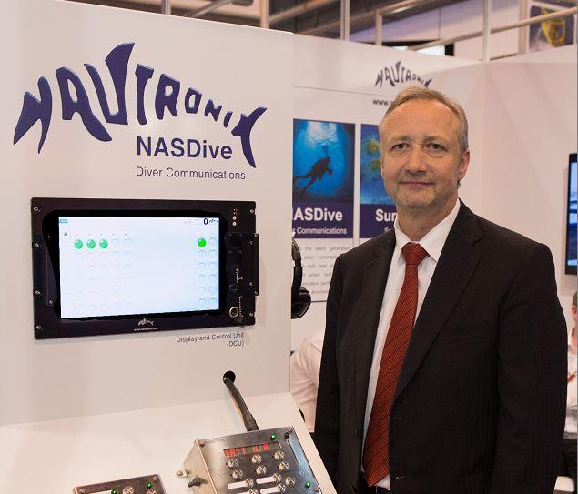Nautronix chief executive Mark Patterson