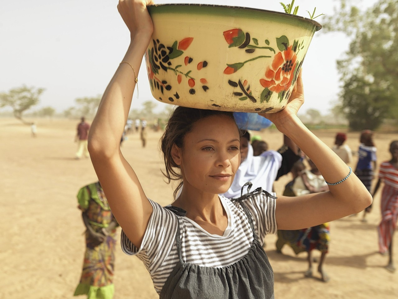 Actress Thandie Newton has already helped bring clean water to villagers in Mali