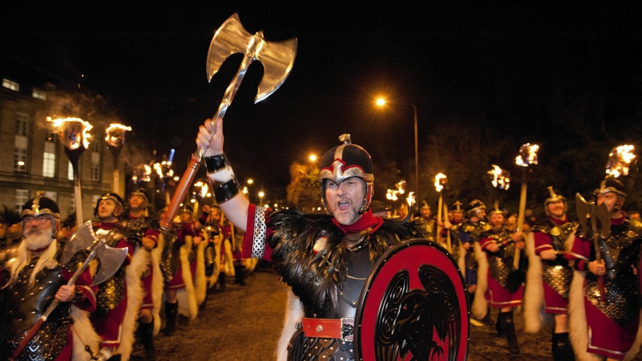Previous years at Up Helly Aa