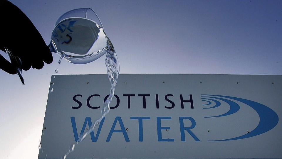 Properties in Oldmeldrum have been affected by the burst pipe