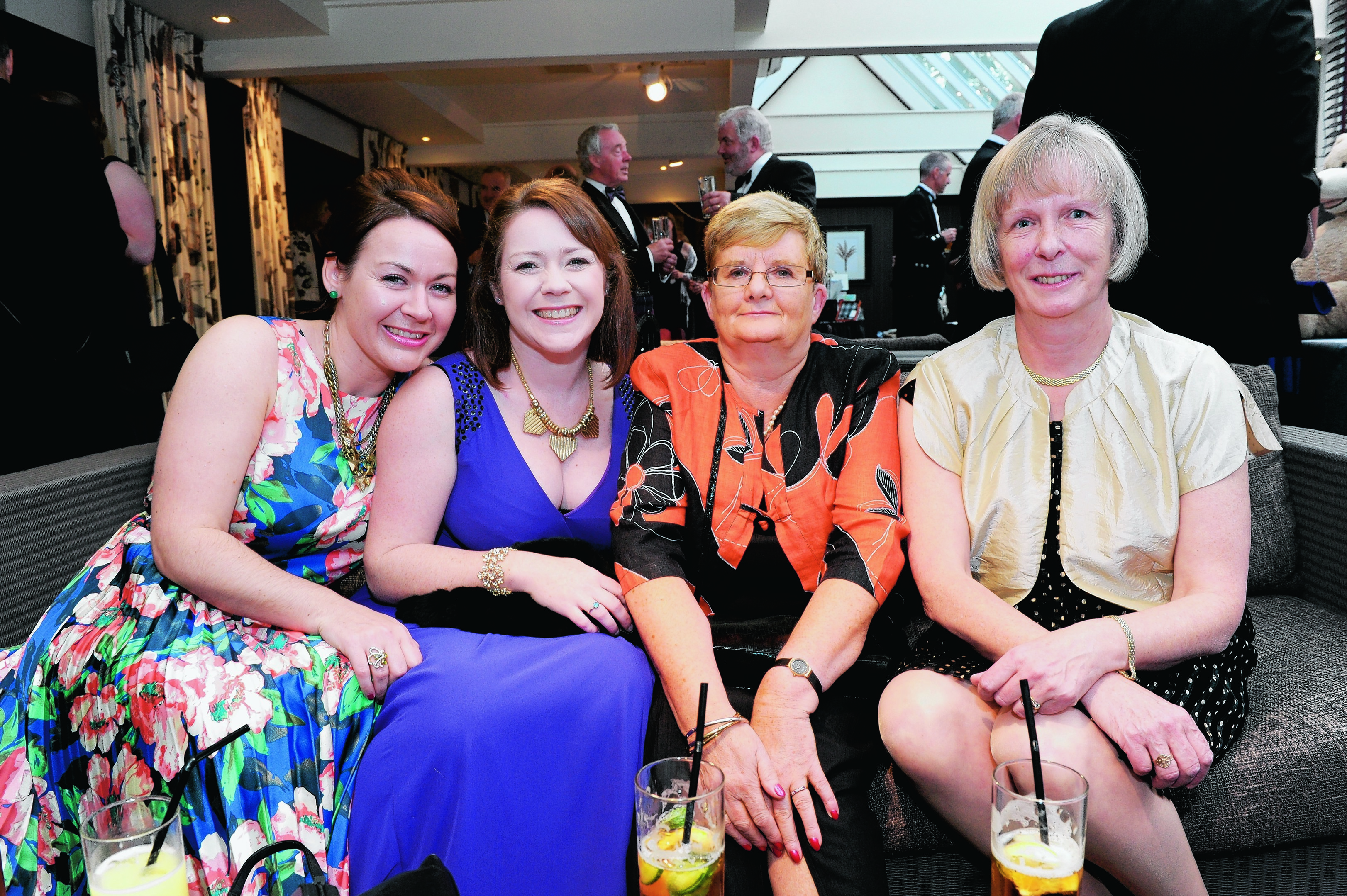 Karen Stuart, Kim Garrett, Liz-Anne Watt and Fiona Scouller