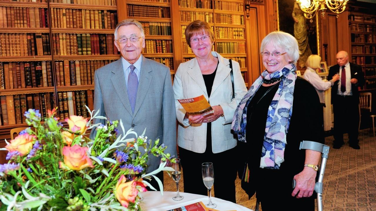 Norman Cooper, Judith Pell and Barbara McFarlane