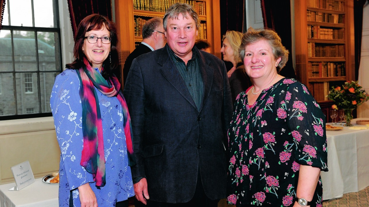 Cathy Guthrie, Paul Ritchie and Jennie Chalmers