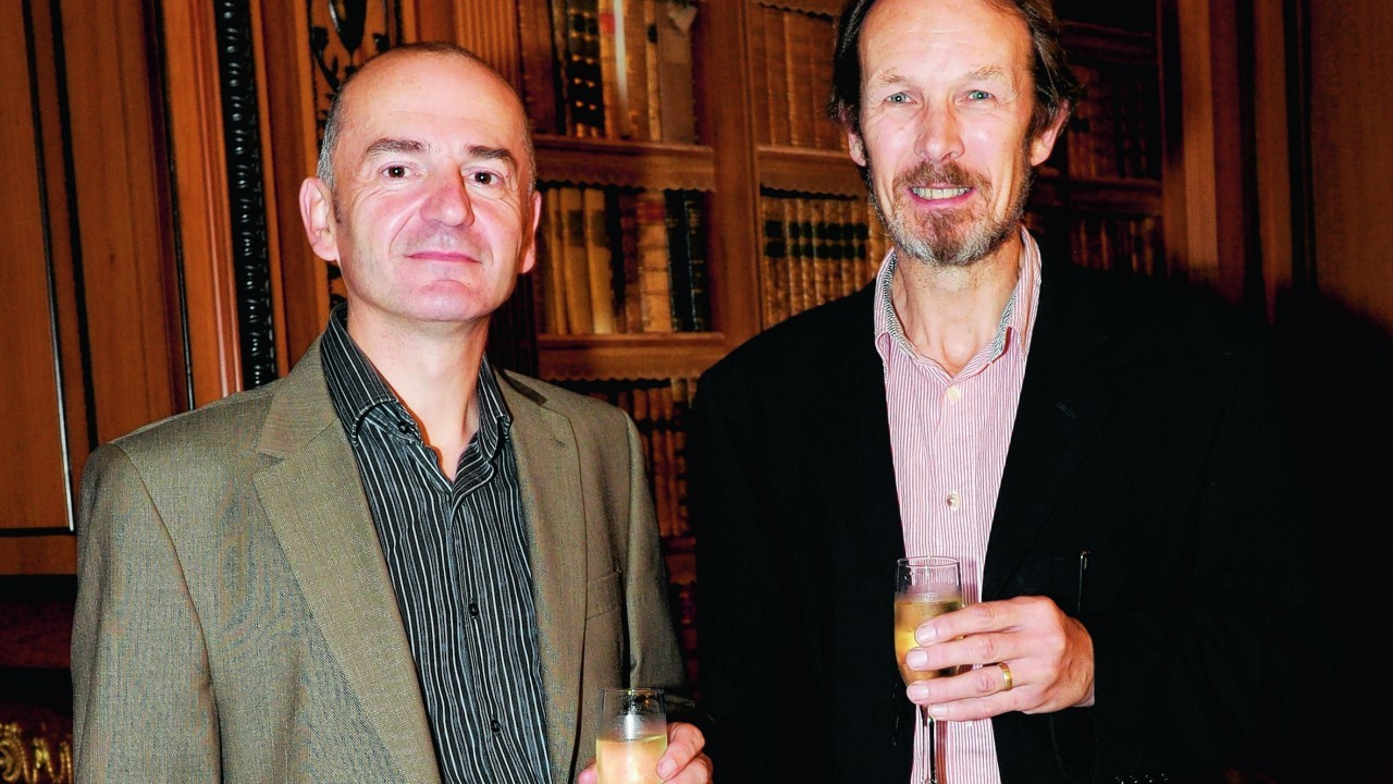 Mark Brown and Richard Aspden