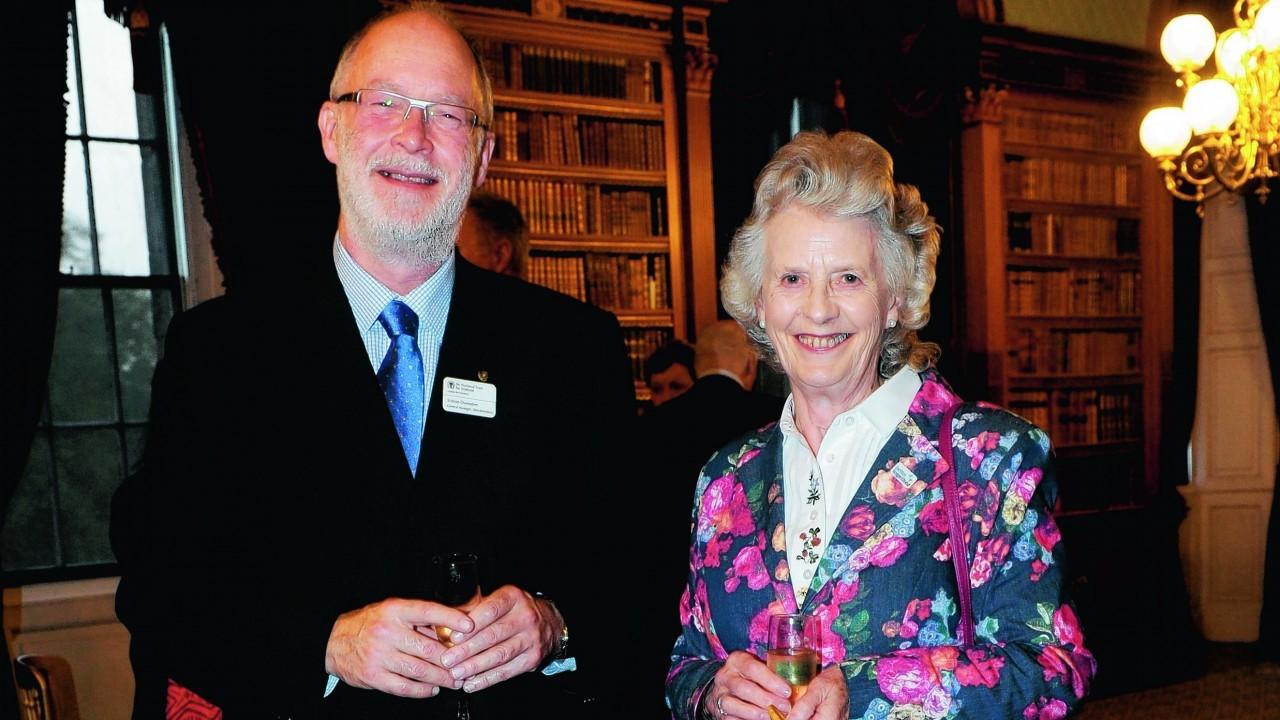 Simon Ovenden and Joyce Mackie