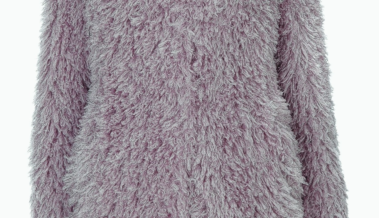 Unreal Fur dusty pink coat, £225 (www.asos.com)