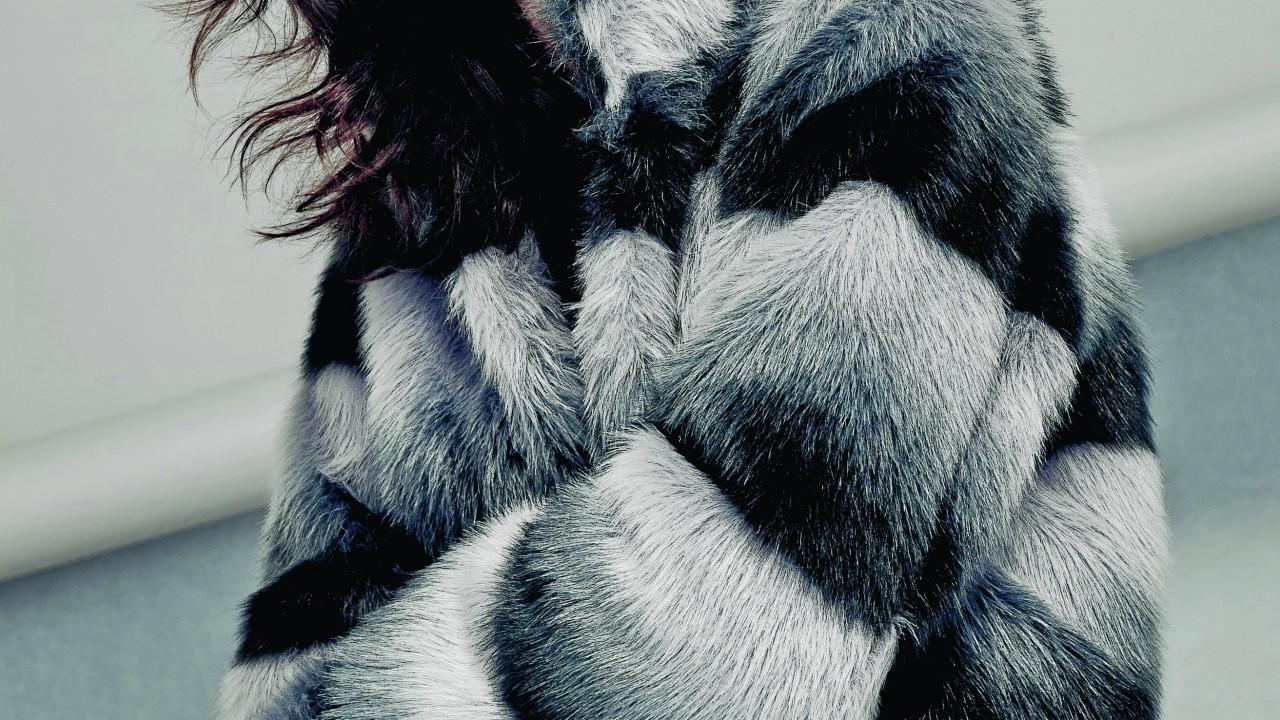 Bronx faux fur coat, £195; Coast