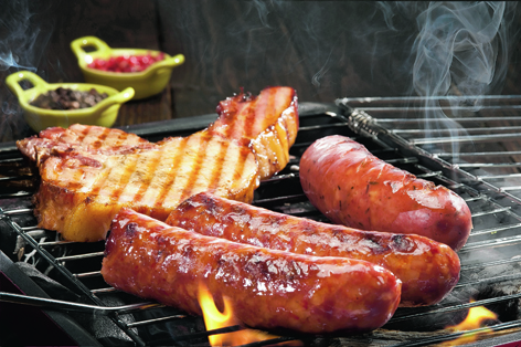 When red and processed meats are cooked at very high temperatures, cell-damaging chemicals are made