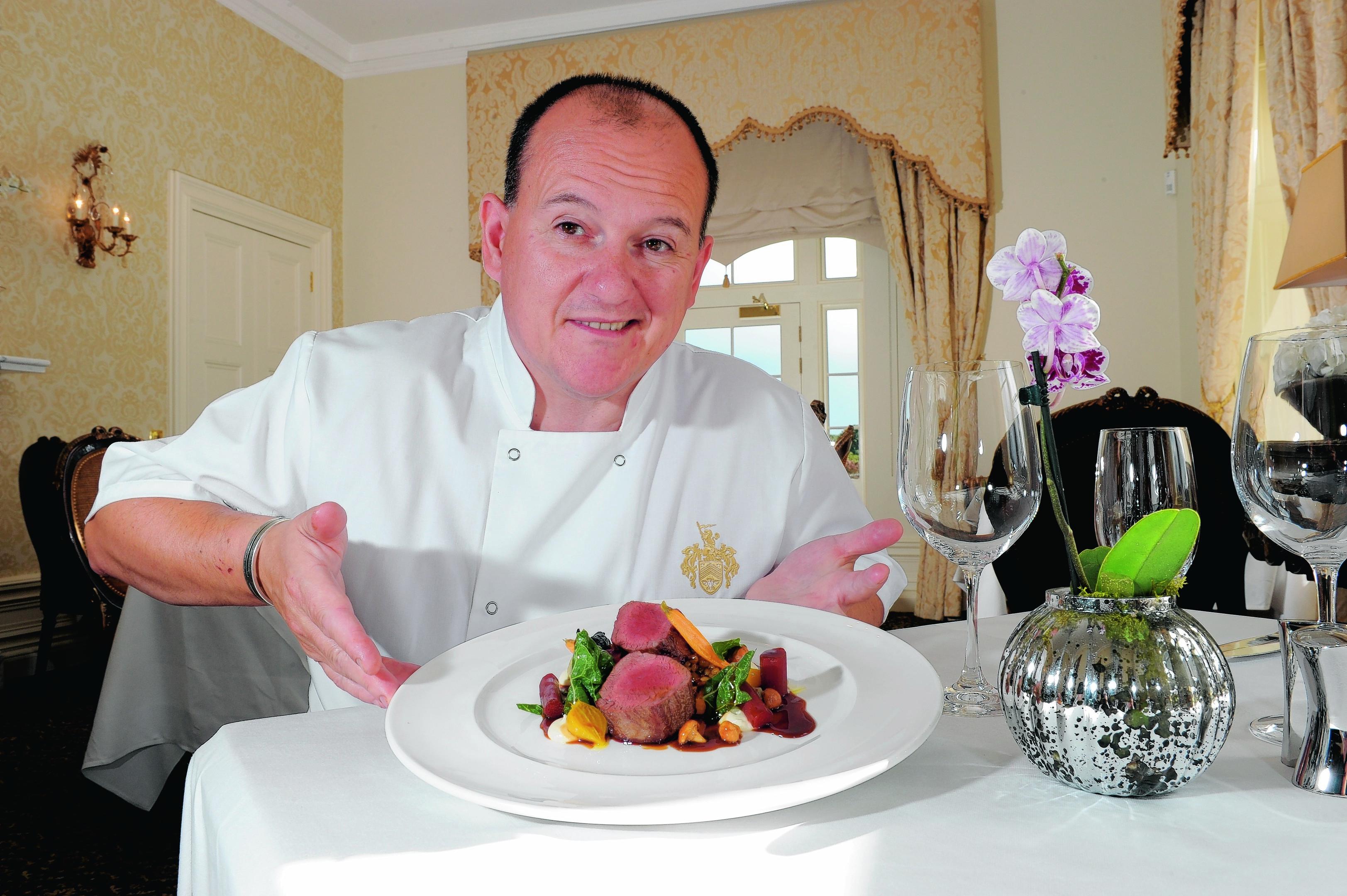 Head Chef Paul Whitecross