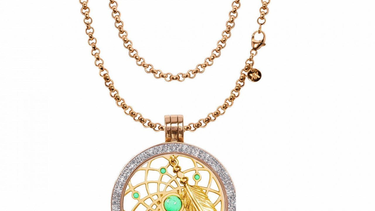 Nikki Lissoni Dreamcatcher coin necklace, from £198