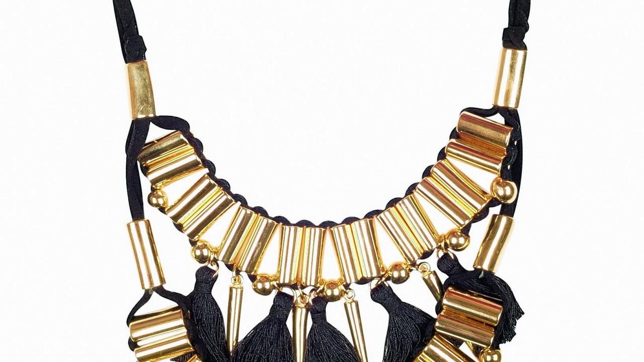 George at Asda tassel statement necklace, £15