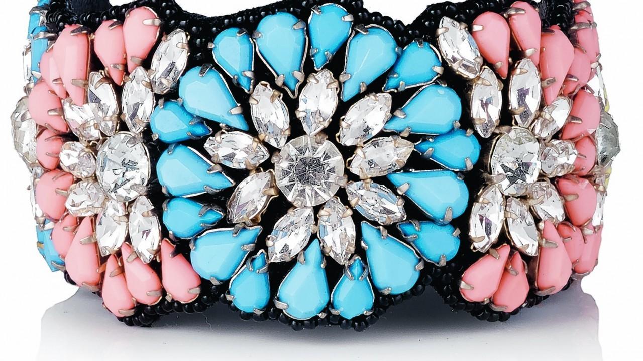 Oliver Bonas Empress flower cuff, £29.50