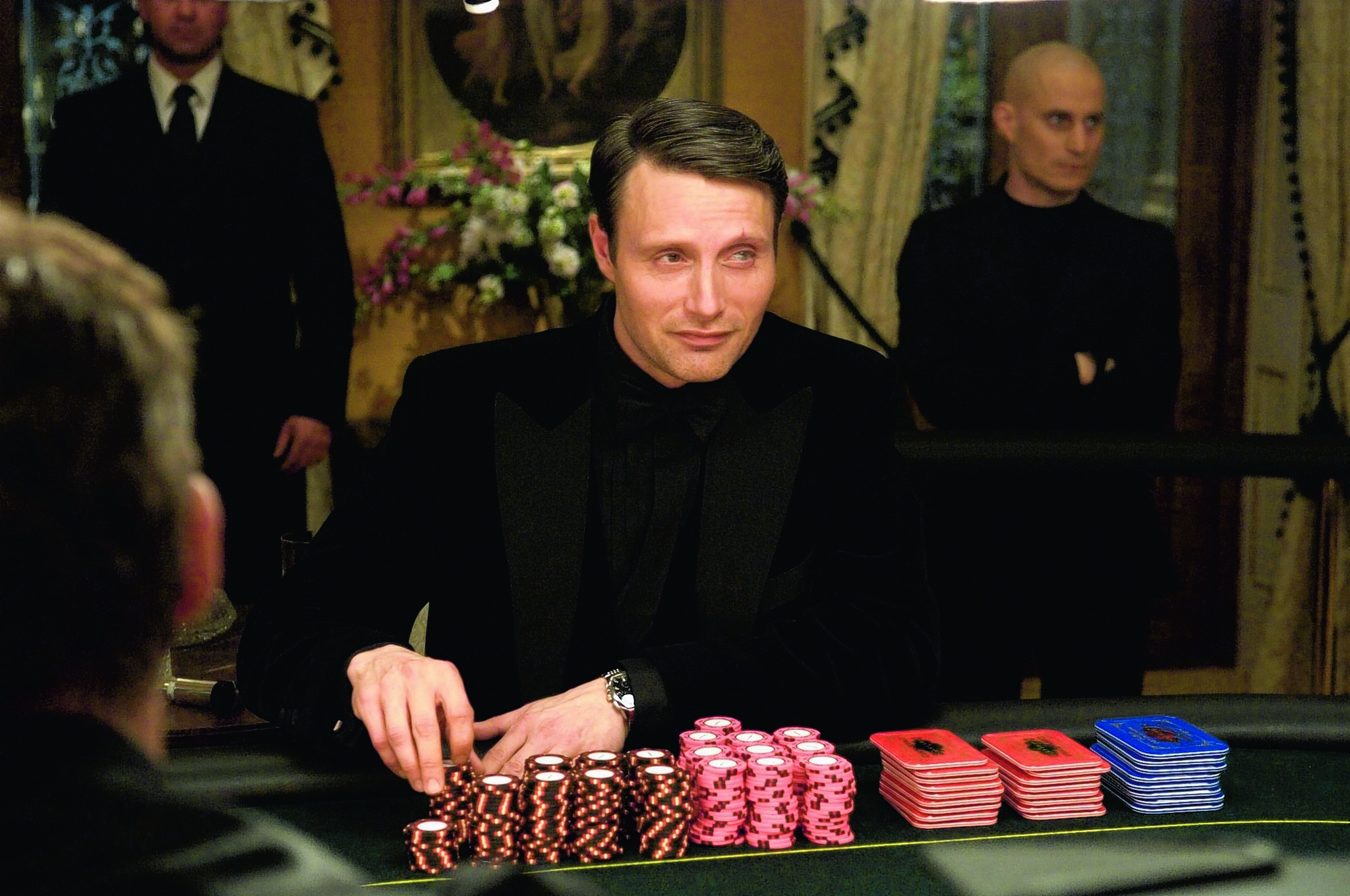 Mads Mikkelsen as Le Chiffre