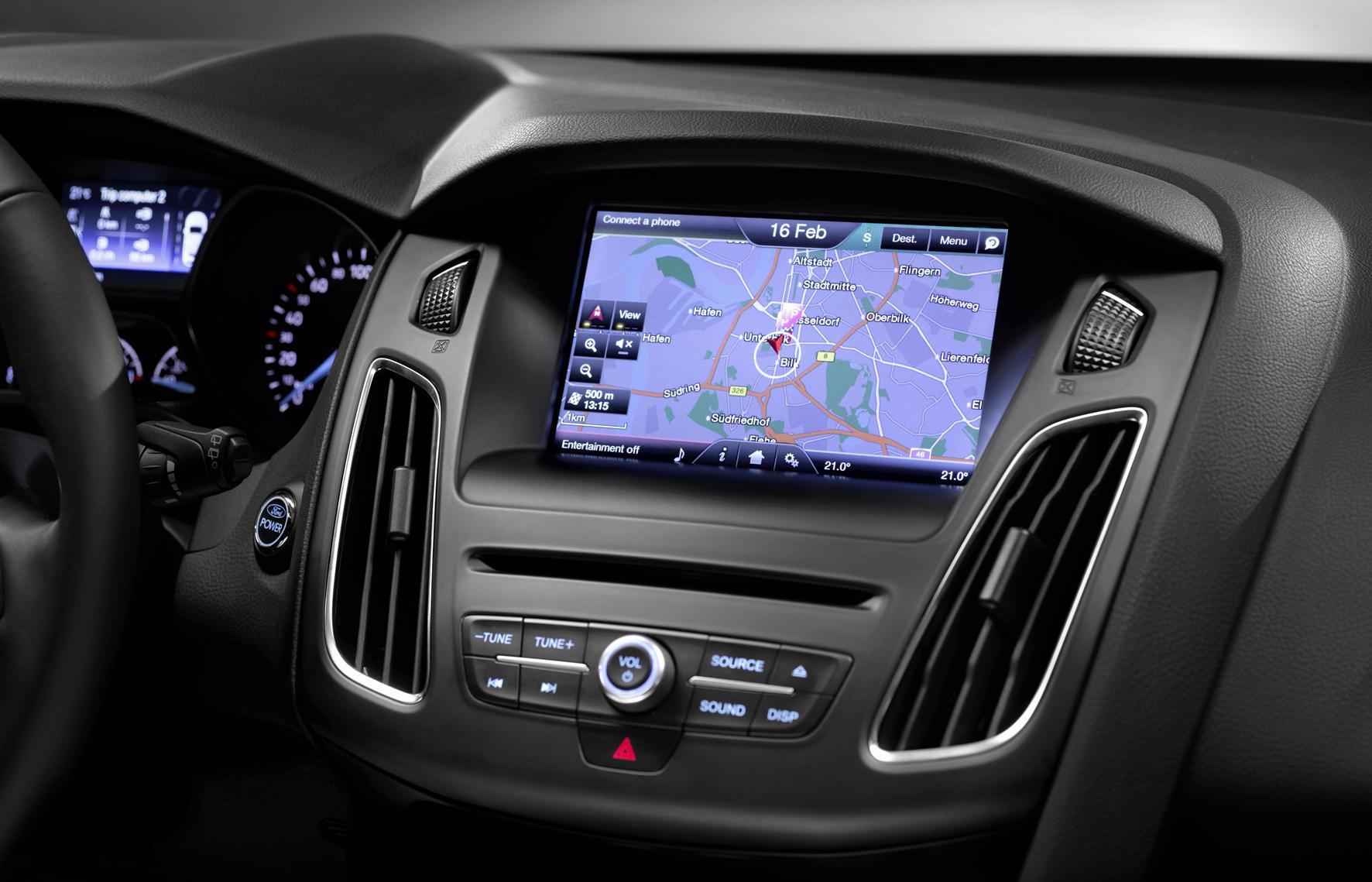 2014 Ford Focus sat-nav