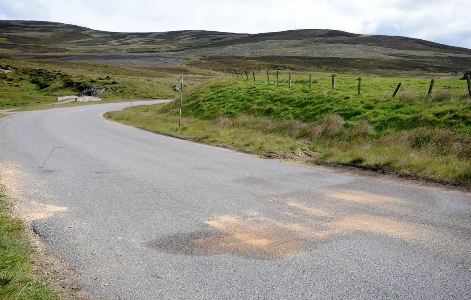 A939 near Gairnshiel road