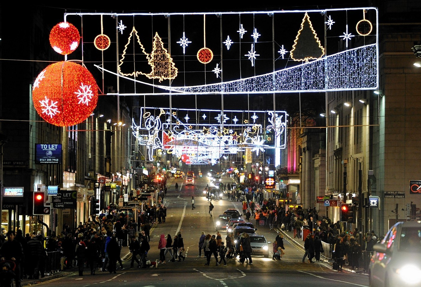 Aberdeen at Christmas