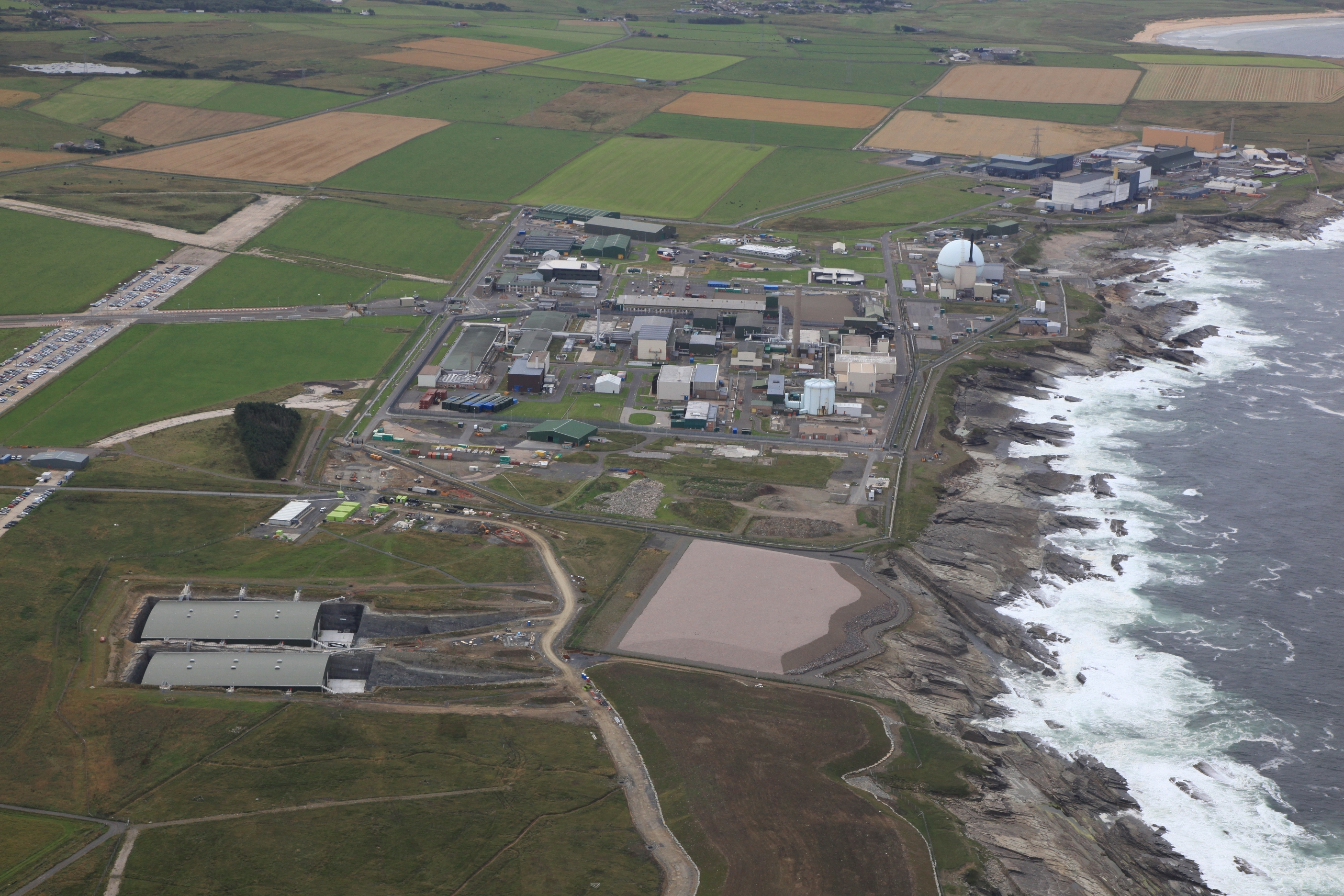 Aerial view of Dounreay