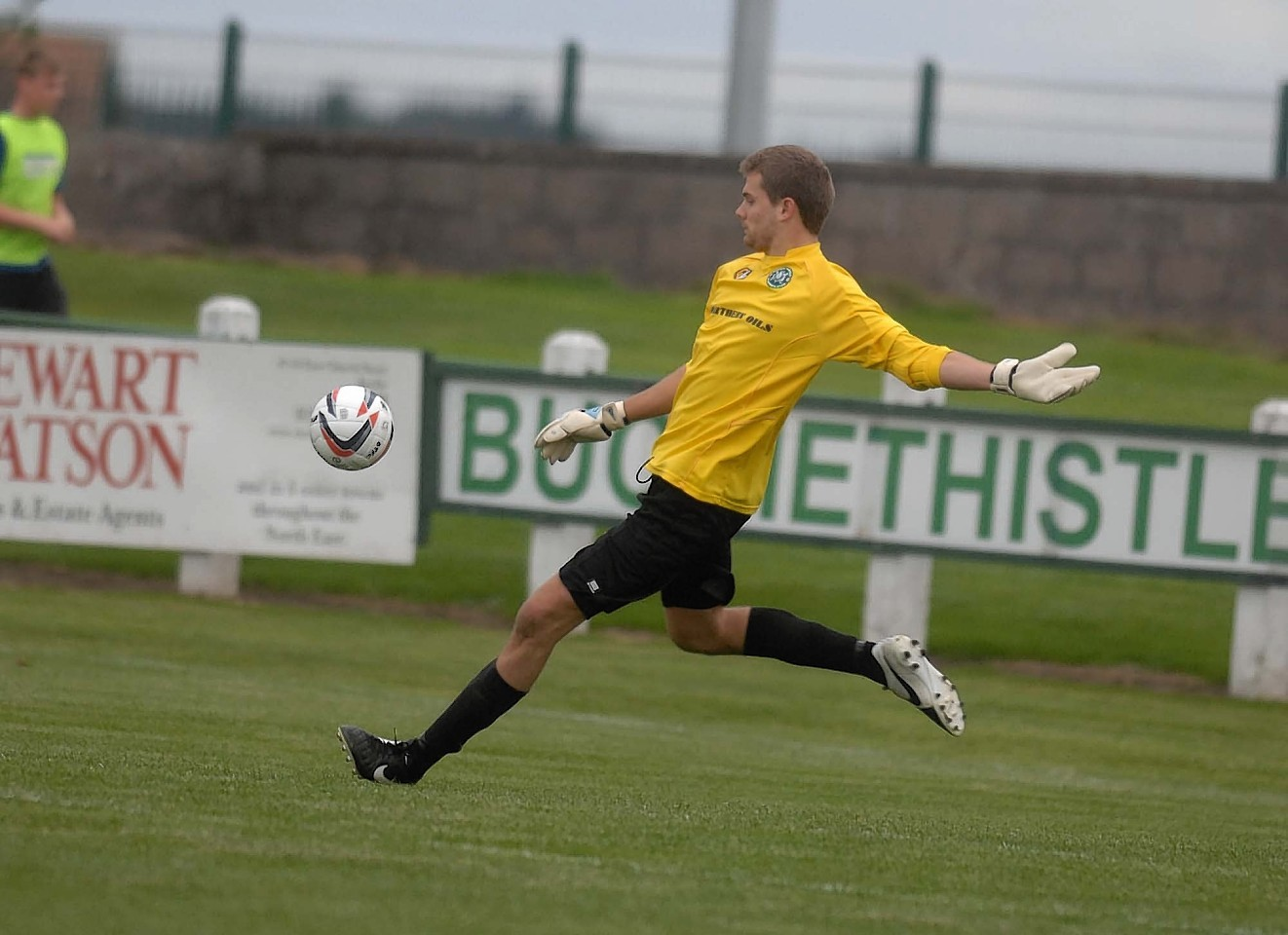 Andy Burr joined Buckie on Saturday