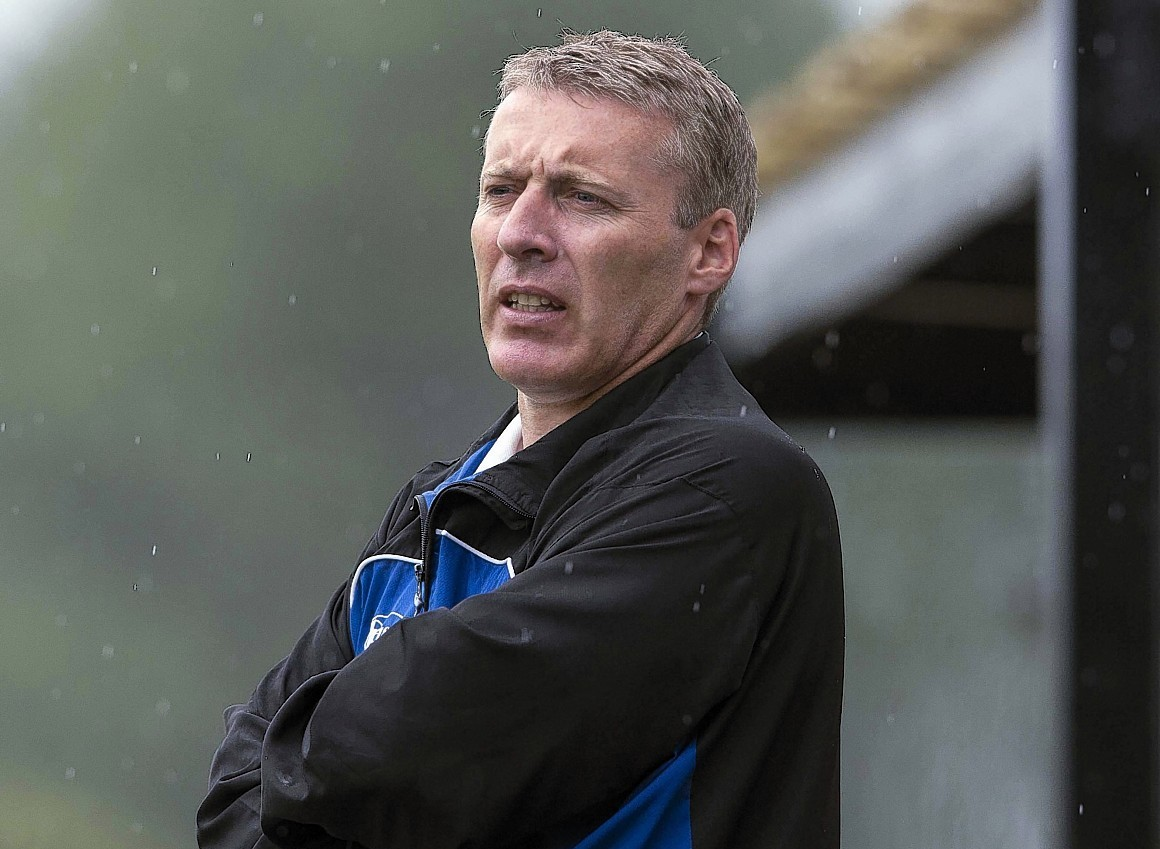 Barry Wilson (pictured) resigned as Elgin manager last week, with Jim Weir chosen as his replacement